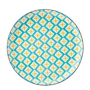 UTOPIA_Cadiz_Blue&Yellow_Talerz_plaski_2