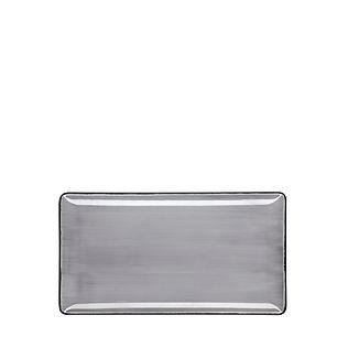 ROYALE Pure Grey Talerz prostokątny 24x1