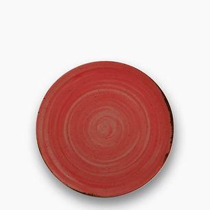 CV Rustico Red Talerz płaski 21 cm.jpg