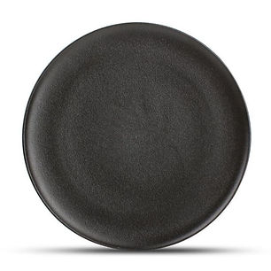 Dusk Black Talerz płaski 27 cm.jpg