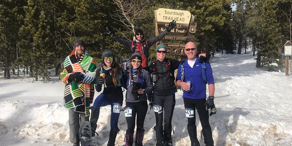 Sourdough Snowshoe Race Reminder
