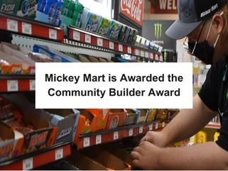 Congratulations to Mickey Mart