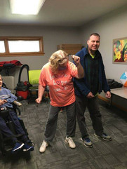 ability works female staff member dancin