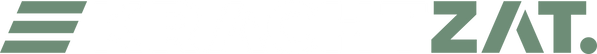 Kracht Zat - logo compleet - groen en wi