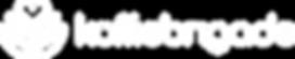 Logo Koffiebrigade Horizontaal - Wit PNG
