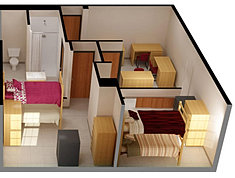Fsu Salley Hall Room Layout