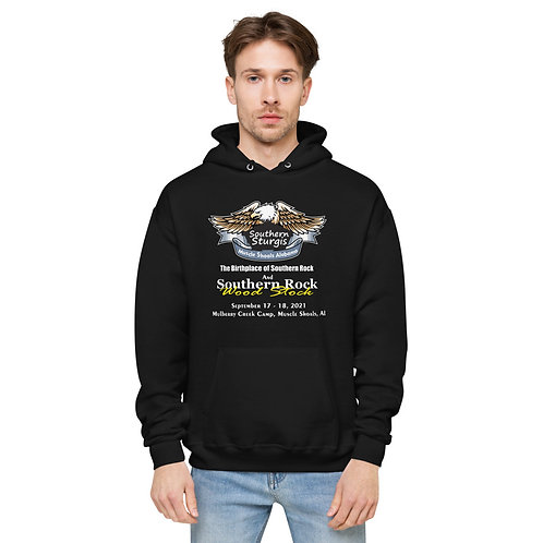 Southern Sturgis and Southern Rock Wood Stock Unisex fleece hoodie