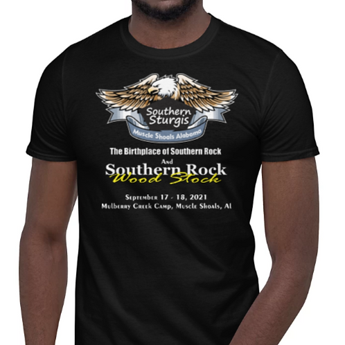 Southern Sturgis and Southern Rock Wood Stock Official T-Shirt 2021
