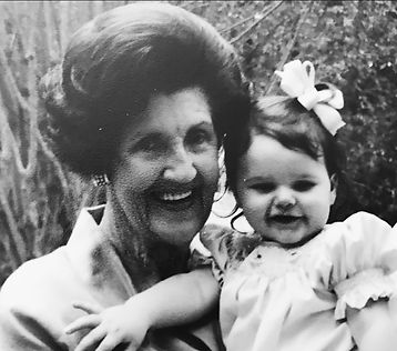 Tempie Jane with her great-grandaughter