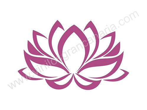 Vinilo decorativo floral Ref.0002