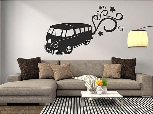 Vinilo decorativo vehículo Ref.0013