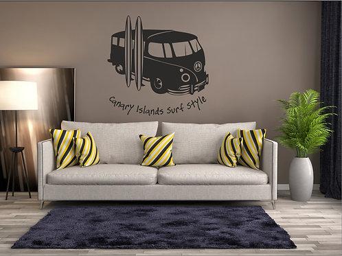 Vinilo decorativo vehiculo Ref.0014