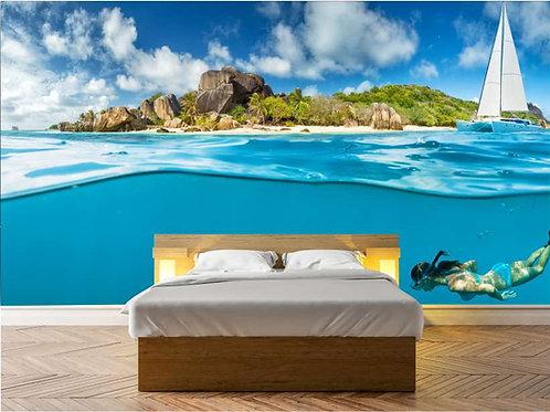 Fotomural bajo el mar Ref.0002