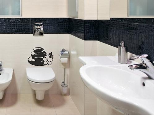 Vinilo decorativo baño Ref.0003