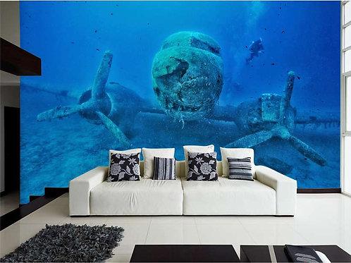 Fotomural bajo el mar Ref.0001