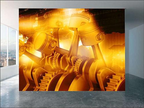 Fotomural motor Ref.0020