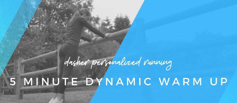 A quick, effective dynamic warm up for every runner