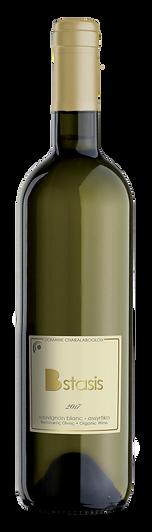 Bstasis white organic wine