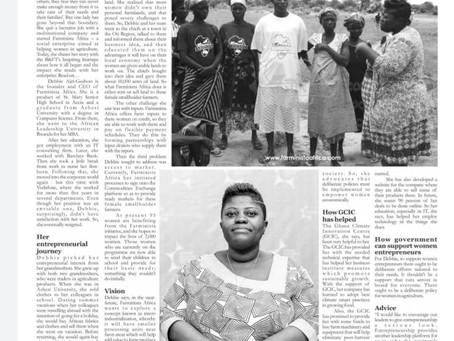 #onTheNews Farminista Africa: a social enterprise making farming easy and lucrative for women