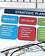 Successful business' use strategic plans