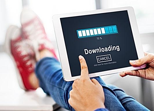 Downloading Transfering Network Informat