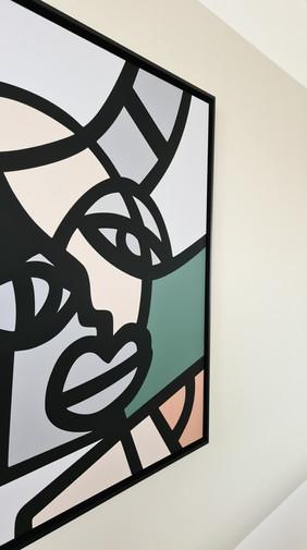 Schilderij Pablo Lucker
