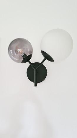 Wandlamp in de hal