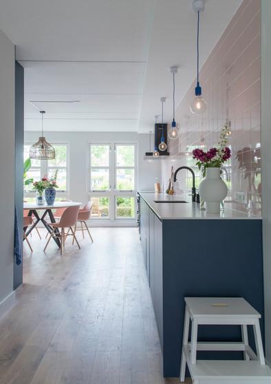 Keuken doorkijk