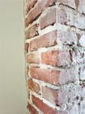Oude bakstenen muur