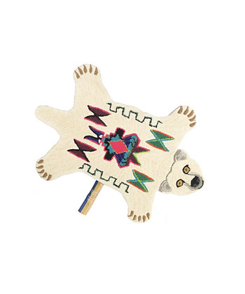 Kasbah Polar Bear Rug Small