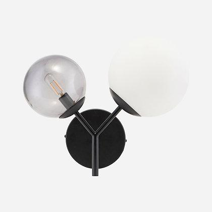 Twice wandlamp