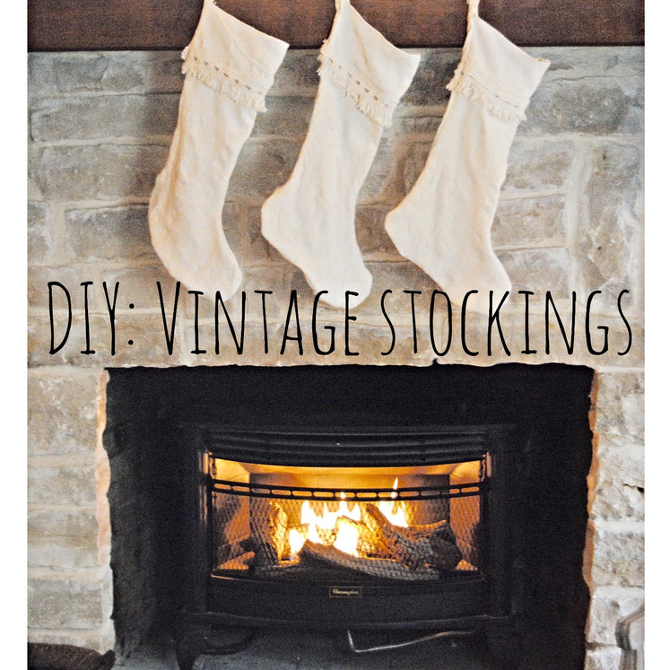 DIY:  Vintage Stockings