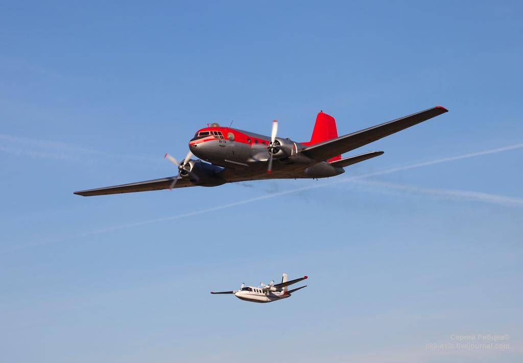 Ил-14Т и AeroCommander
