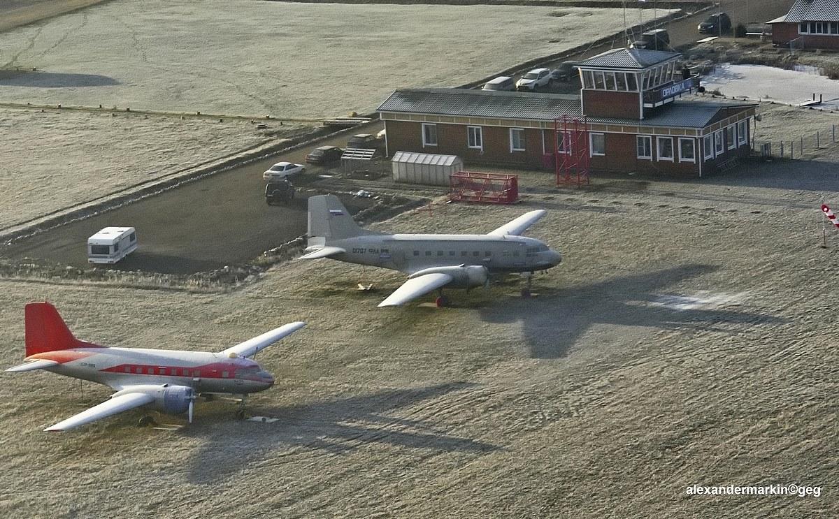 2014-11-30 Ил-14 в Орловке