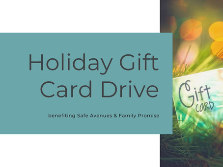 Holiday Gift Card Drive Update