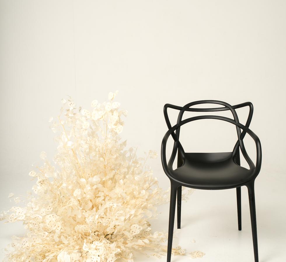 Master Chair black_lunaria_gaea design