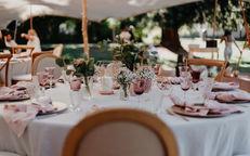 Switzerland city wedding_table setting