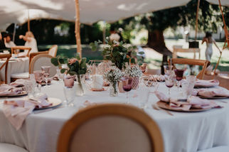 Switzerland city wedding_table setting