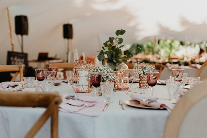 Switzerland city wedding_reception table