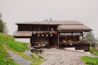 Swiss destination wedding_mountain view