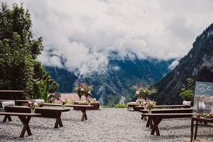 Swiss destination wedding_mountain ceremony