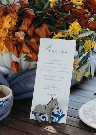 Tuscany Romantic wedding table