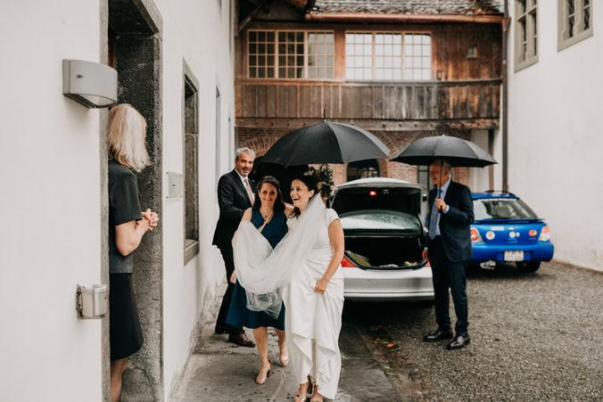 Liz & Robert Grindelwald Wedding