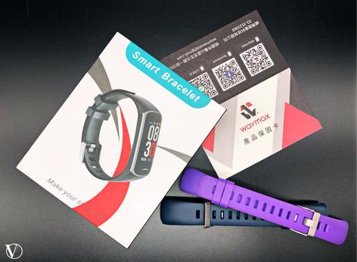 健康秘書——【Waymax・BY21S 生理照護智慧健康手環】