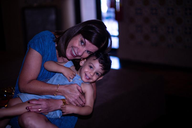 Rafaelzinho e tia Mônica
