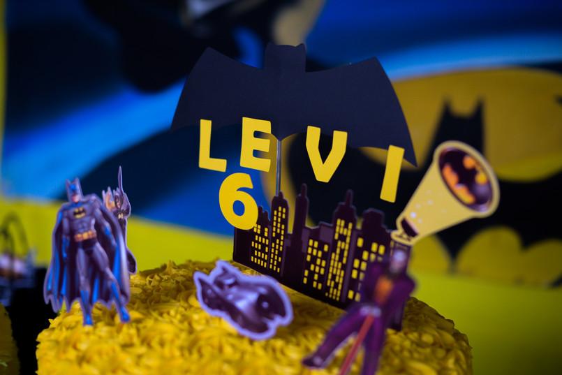 6 anos do Levi