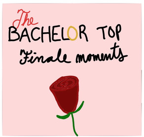 The Bachelor finale best moments in doodles