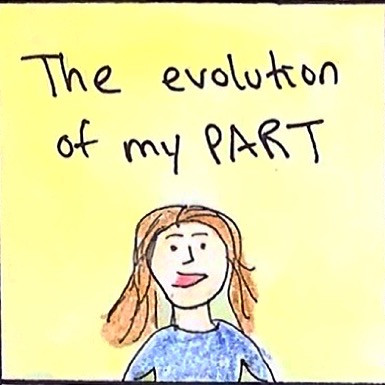Are side parts really over? A cartoon about my hair journey.
