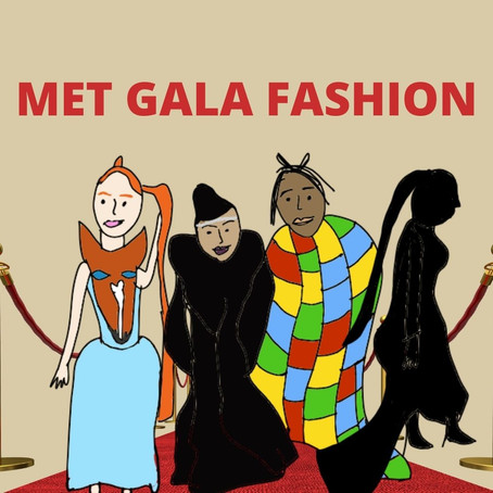 Met Gala report — my doodle reaction to the fashion
