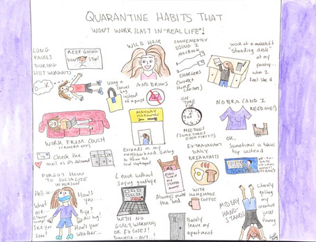 Quarantine habits that won't last in real life